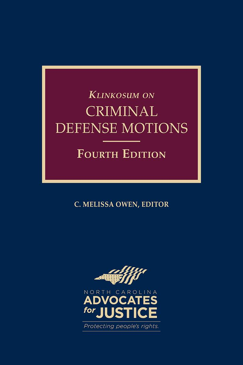 Publisher: North Carolina Advocates for Justice