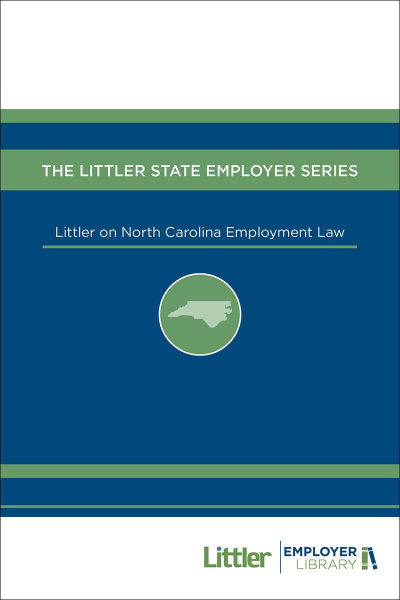 Littler on North Carolina Employment Law   LexisNexis Store