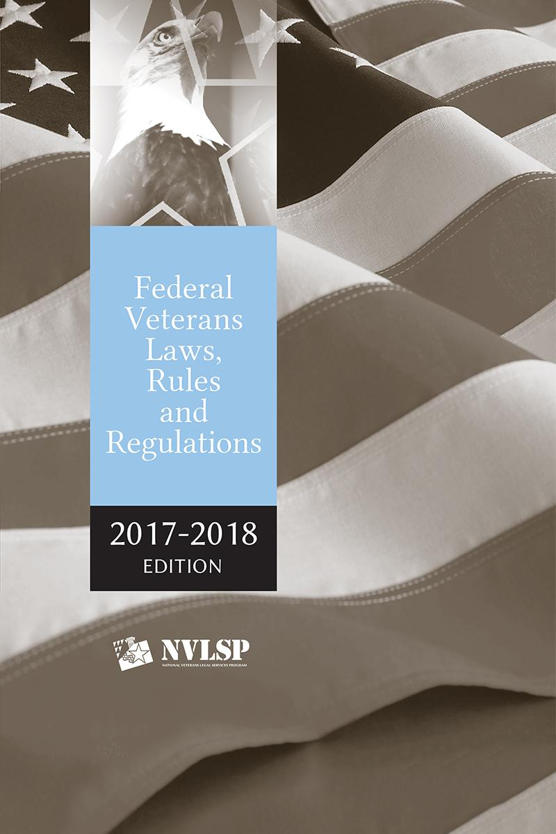 Federal Veterans Laws, Rules and Regulations