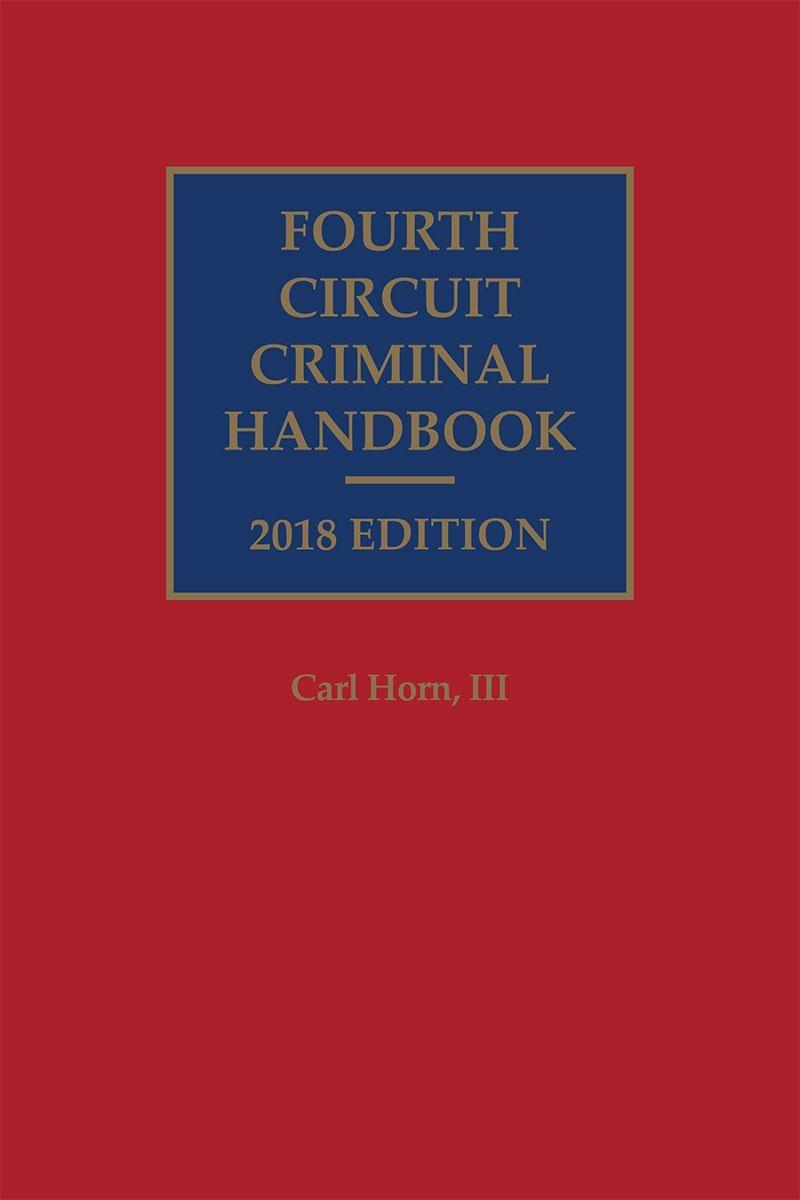 Fourth Circuit Criminal Handbook