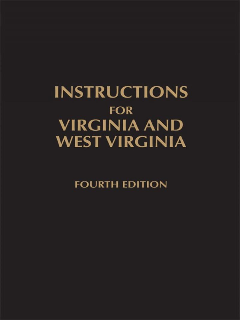 Instructions for Virginia and West Virginia