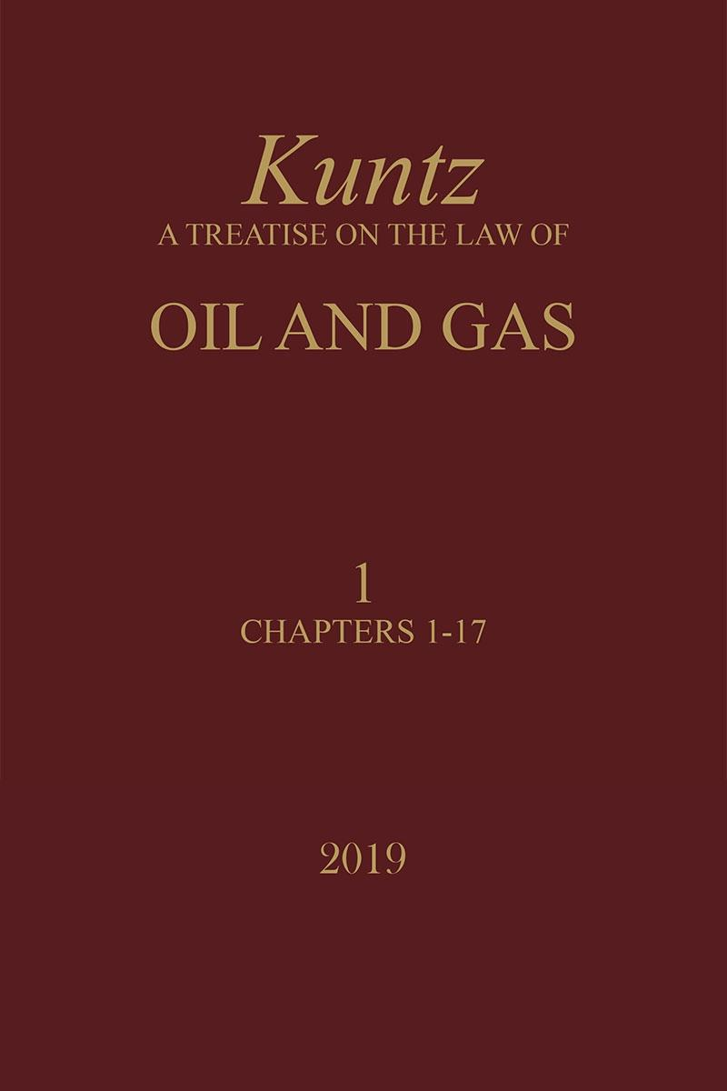 Kuntz a treatise on the law of oil and gas lexisnexis store fandeluxe Choice Image
