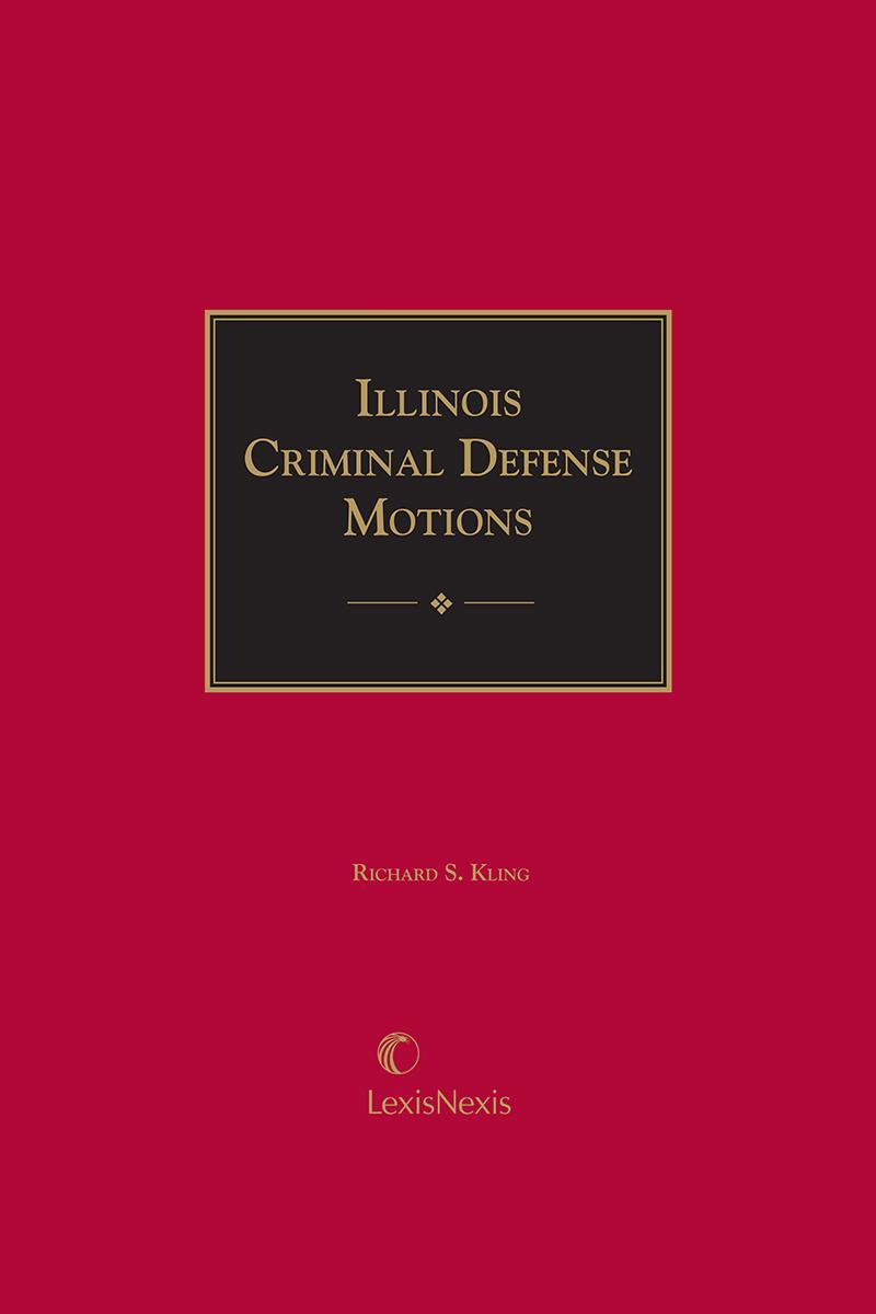 Illinois Criminal Defense Motions cover