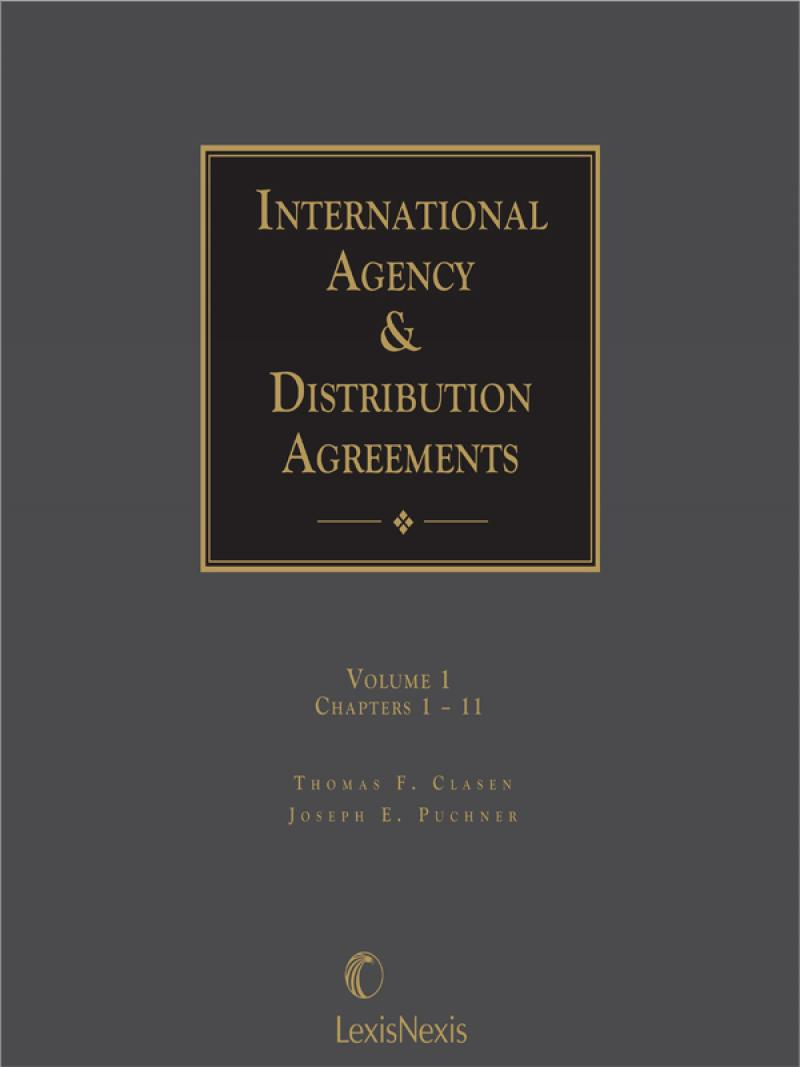 International Agency And Distribution Agreements Lexisnexis Store