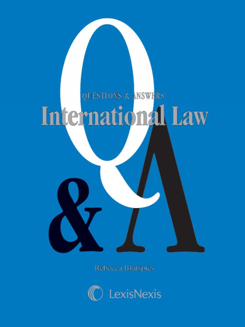 questions on international law Frequently asked questions on international humanitarian, human rights and refugee law in the context of armed conflict 31-03-2004 faq the united nations' inter-agency standing committee, a coordination group for humanitarian agencies, has produced a basic fact-file on legal aspects of aid work during conflicts.