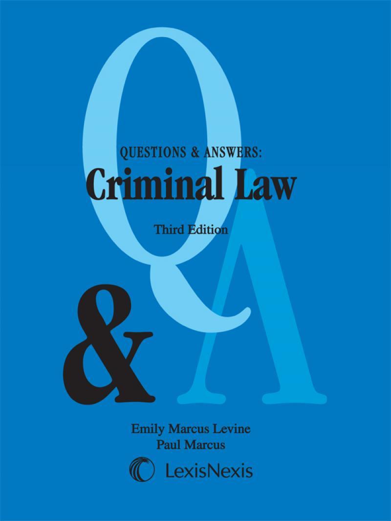 Questions & Answers: Criminal Law