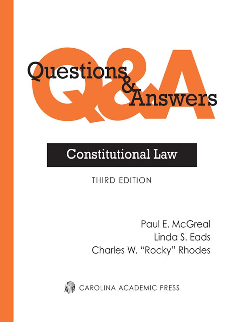 Questions Answers Constitutional Law Lexisnexis Store