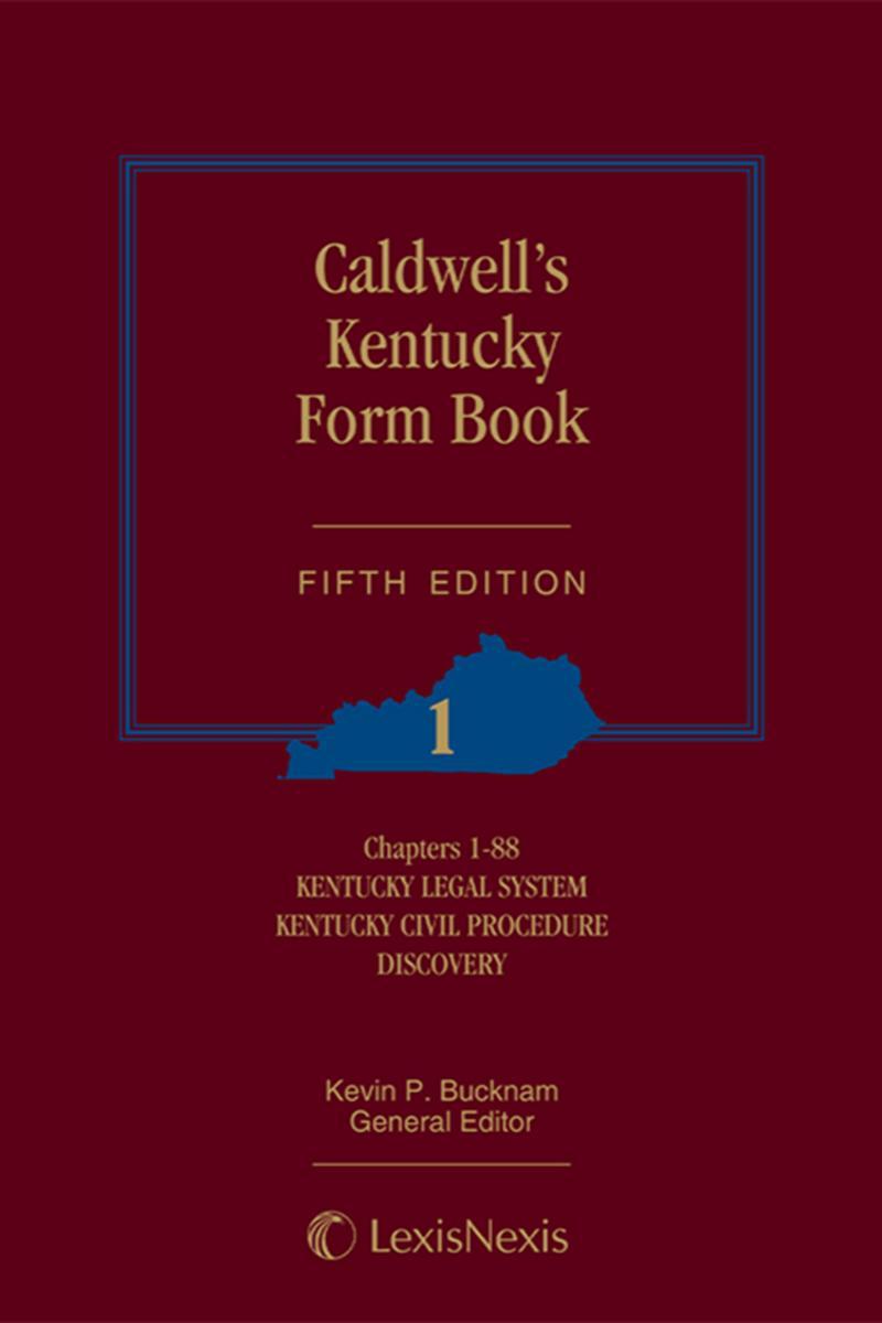 Caldwell's Kentucky Form Book | LexisNexis Store