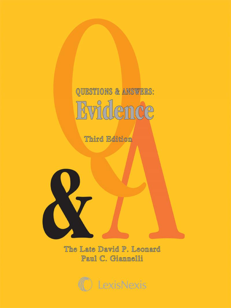 Questions answers evidence lexisnexis store questions answers evidence fandeluxe Choice Image