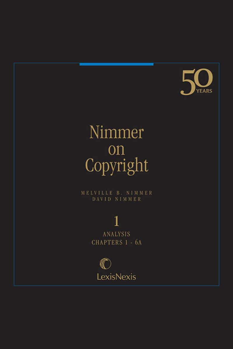 Nimmer on Copyright