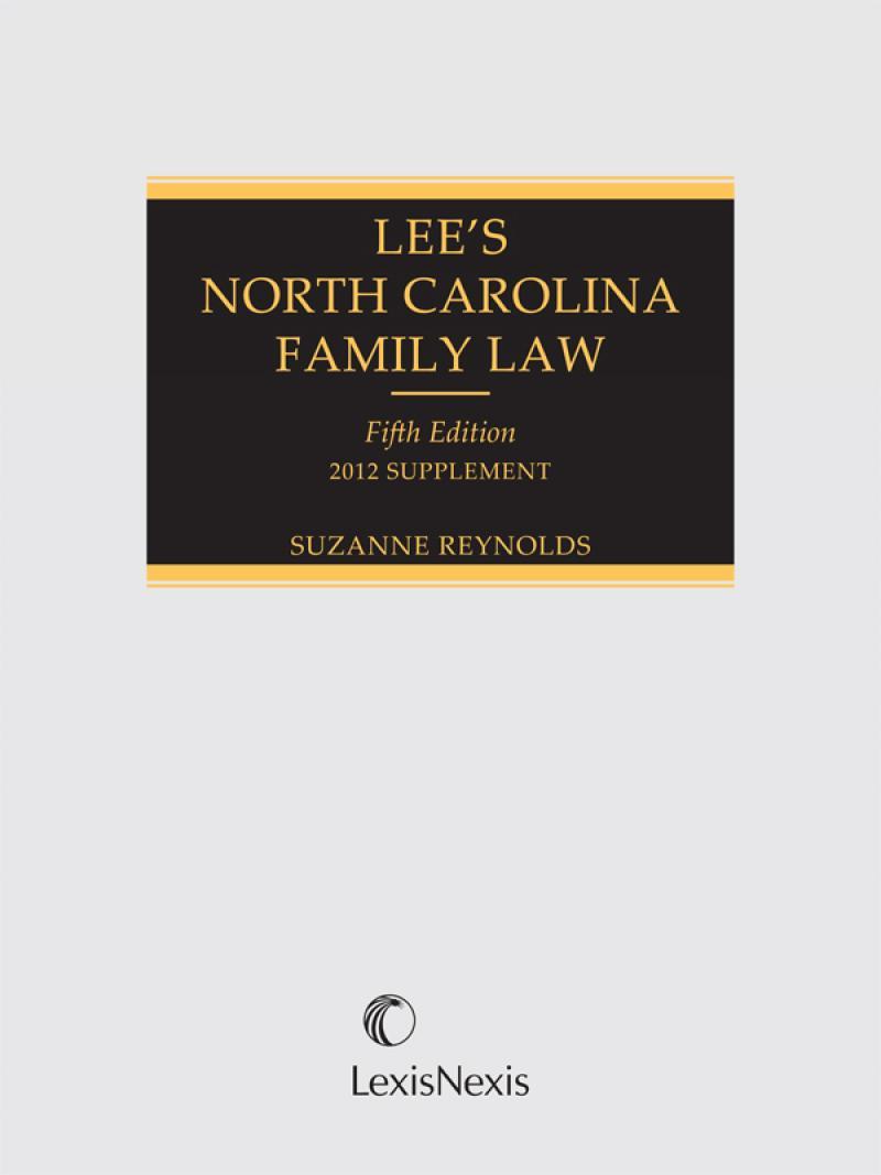 Lees North Carolina Family Law Lexisnexis Store