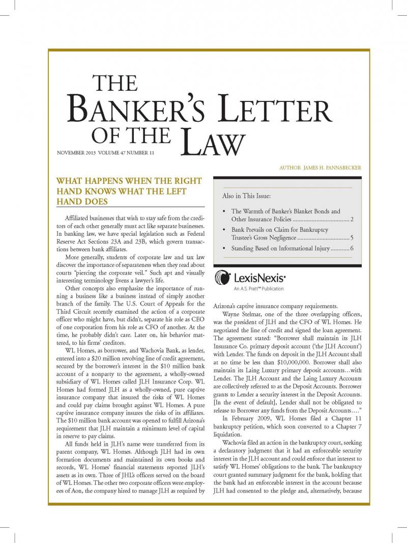 law and bank holding act To raise the consolidated assets threshold under the small bank holding even though december's tax reform law small bank holding company relief act of.
