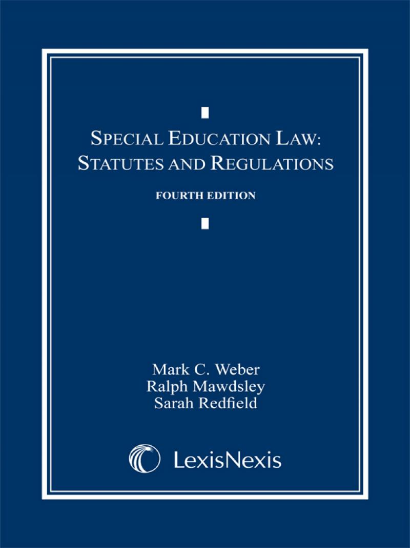 Special Education Law: Statutes and Regulations Document ...