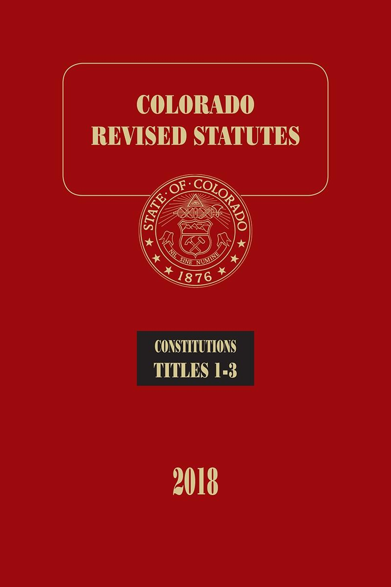 Colorado Statutes Images - Reverse Search