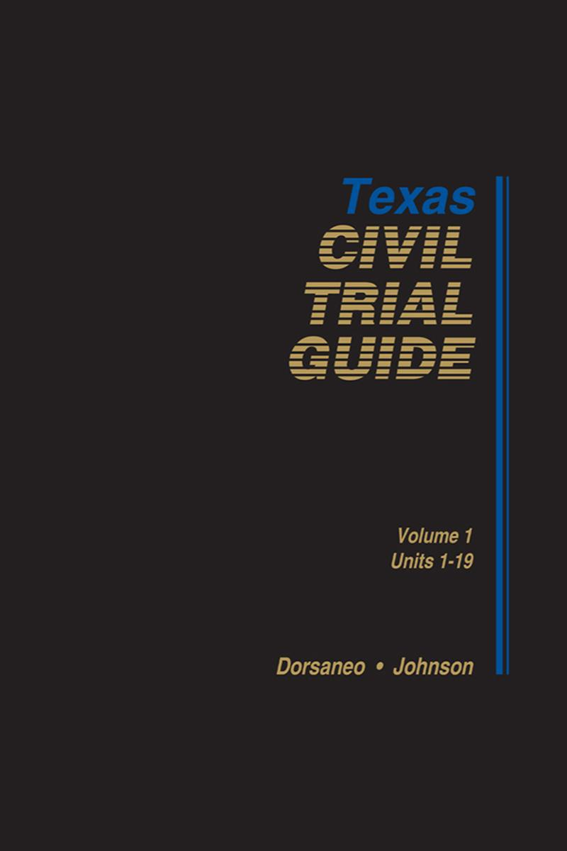 Texas Civil Trial Guide | LexisNexis Store