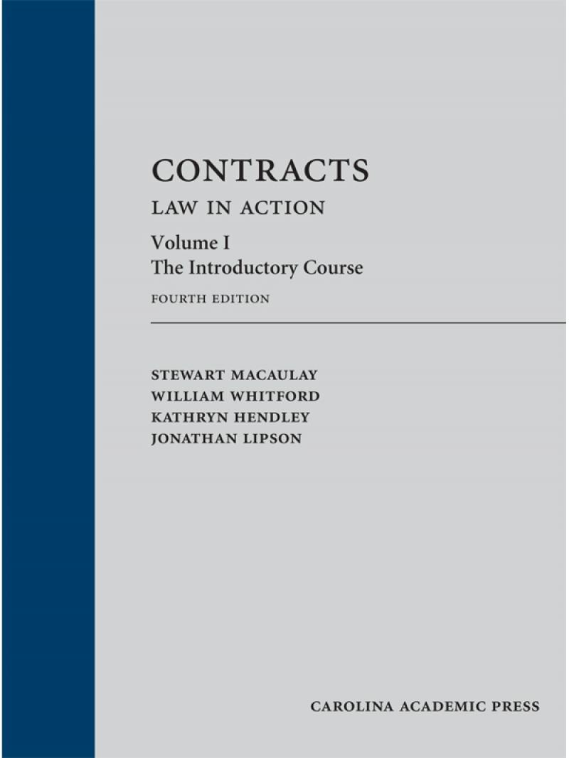 Contract law coursework help