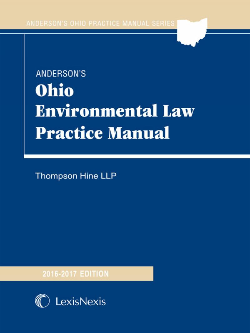 Anderson's Ohio Environmental Law Practice Manual