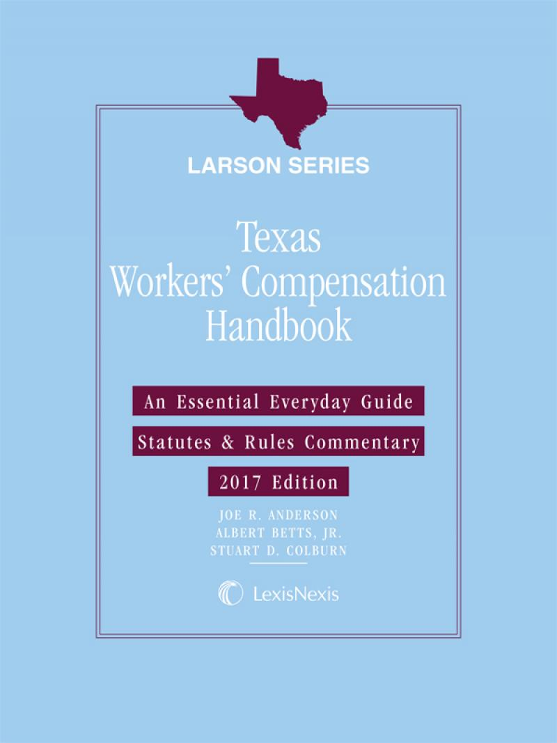 Texas Workers' Compensation Handbook