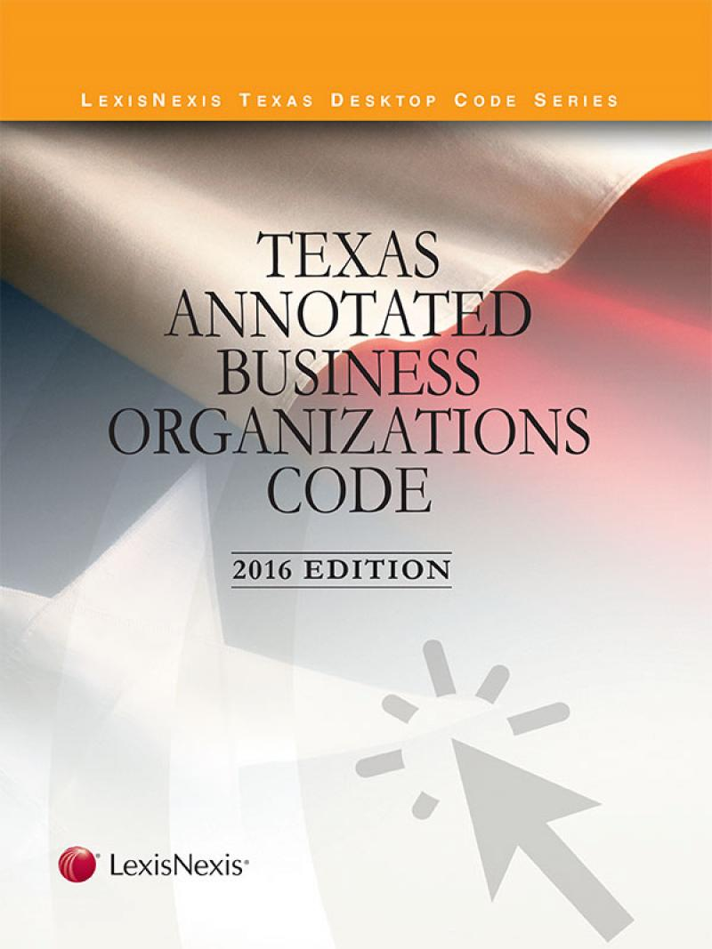 Texas annotated insurance code lexisnexis store texas annotated business organizations code cover fandeluxe Choice Image