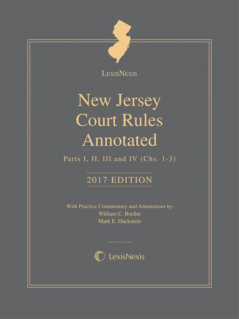 Lexisnexis New Jersey Court Rules Annotated Lexisnexis Store