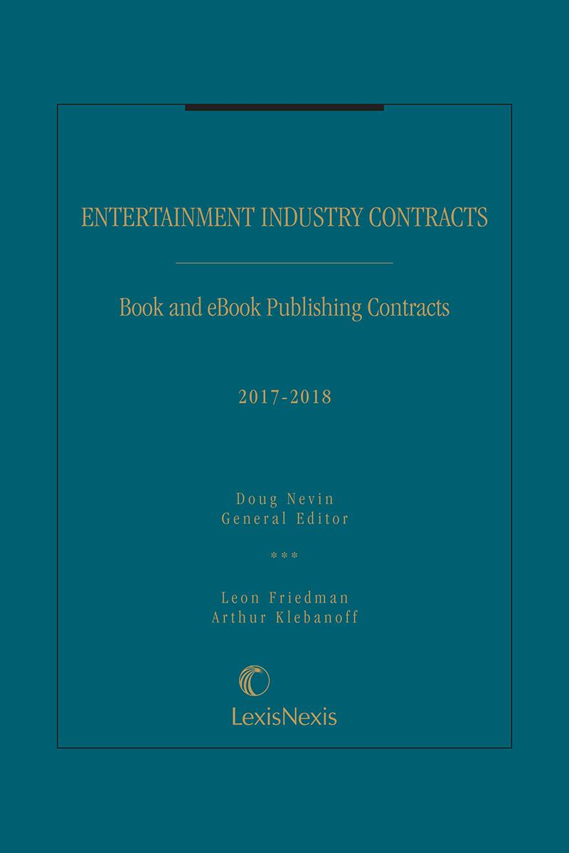New titles print digital solutions lexisnexis entertainment industry contracts book and ebook publishing contracts 2017 2018 fandeluxe Image collections