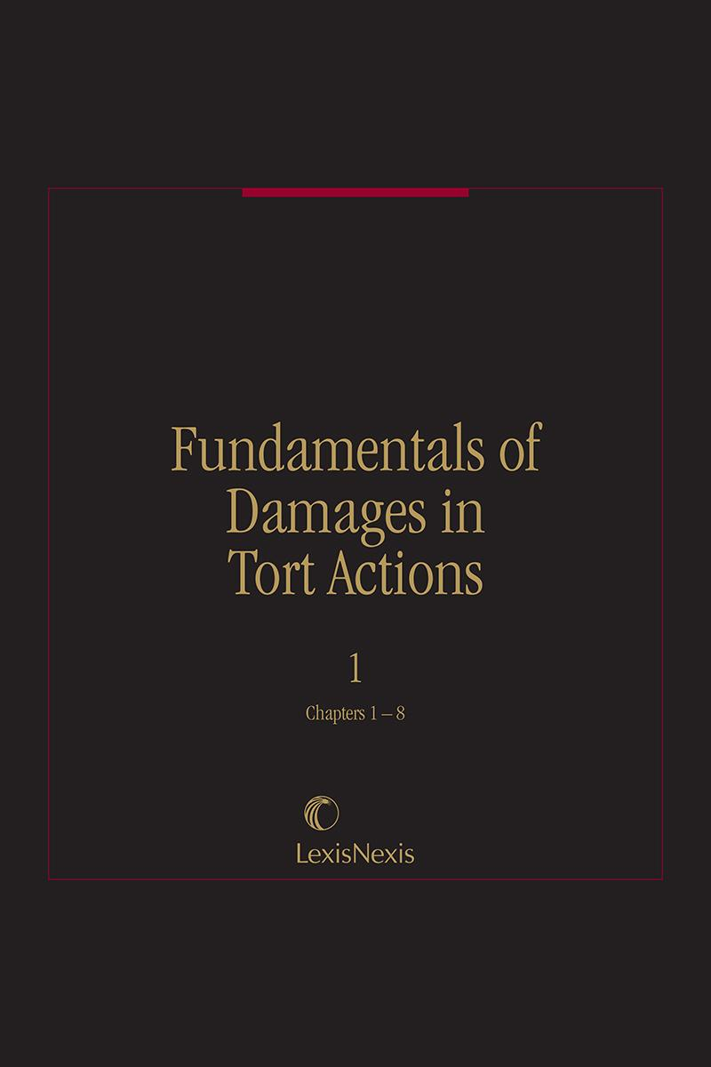 Fundamentals of Damages in Tort Actions