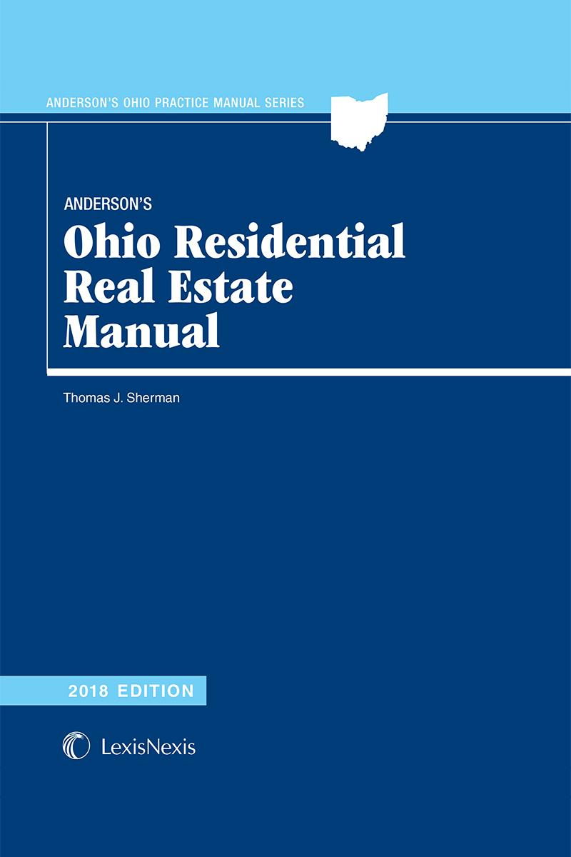 Anderson's Ohio Residential Real Estate Manual