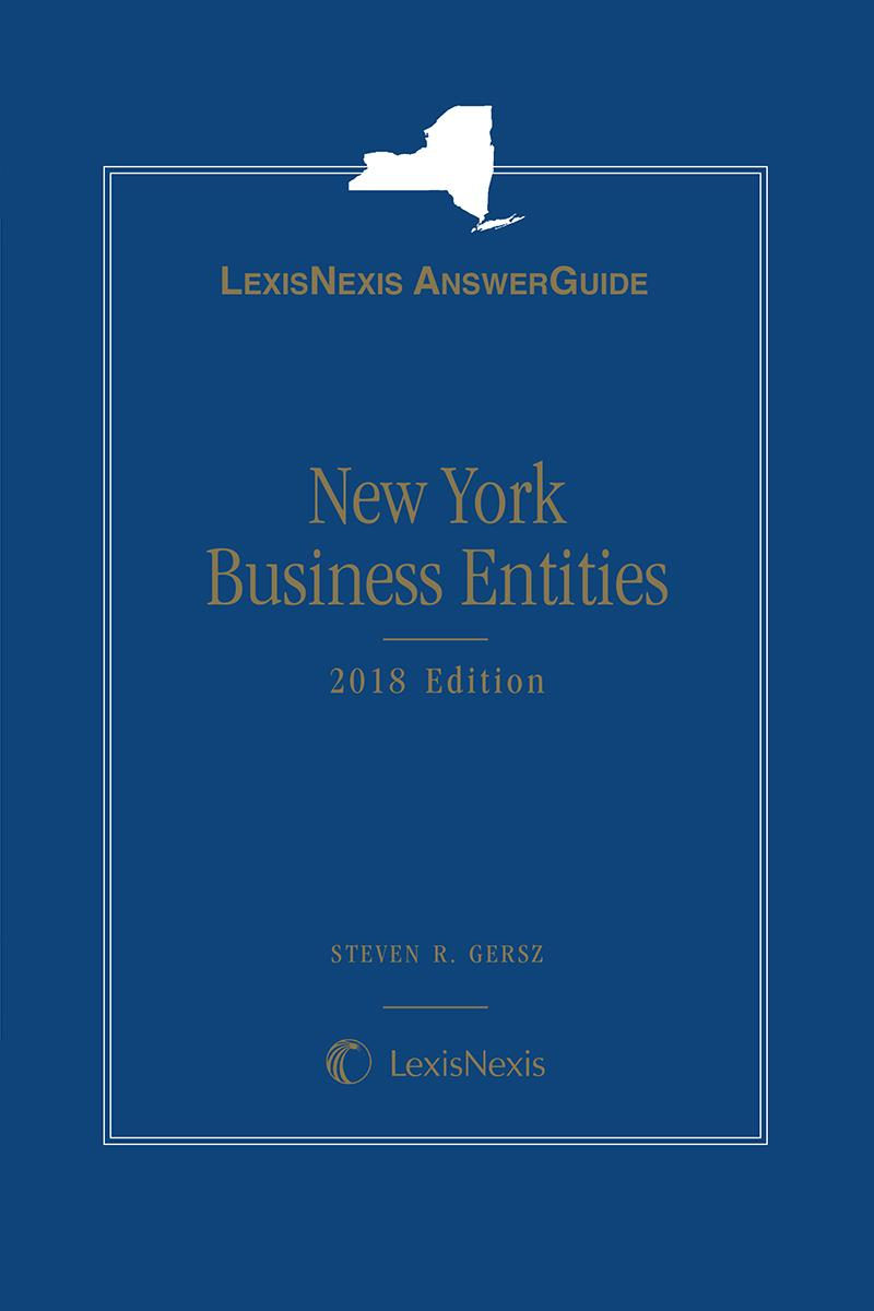 LexisNexis AnswerGuide New York Business Entities