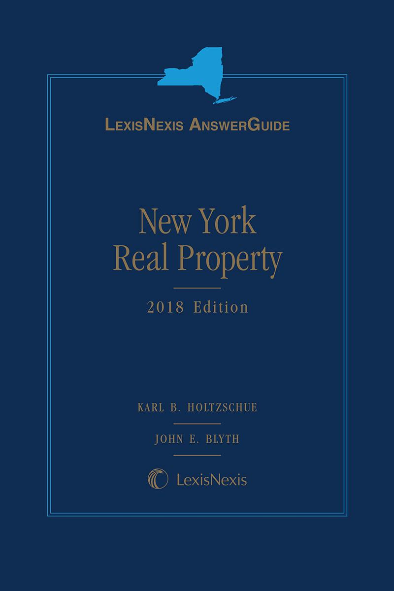 LexisNexis AnswerGuide New York Real Property