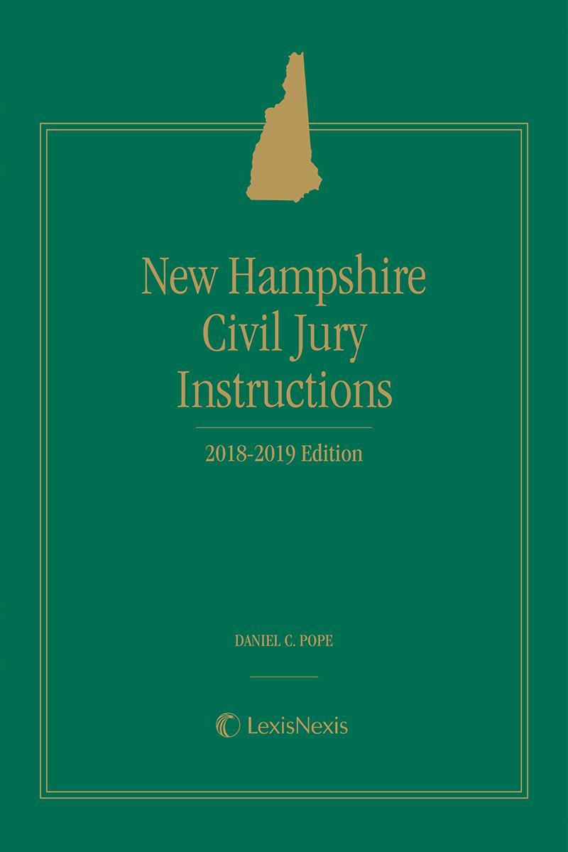 New Hampshire Civil Jury Instructions Lexisnexis Store