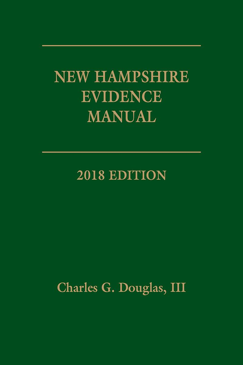 New Hampshire Evidence Manual