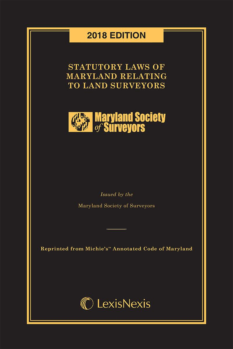 Statutory Laws of Maryland Relating to Land Surveyors