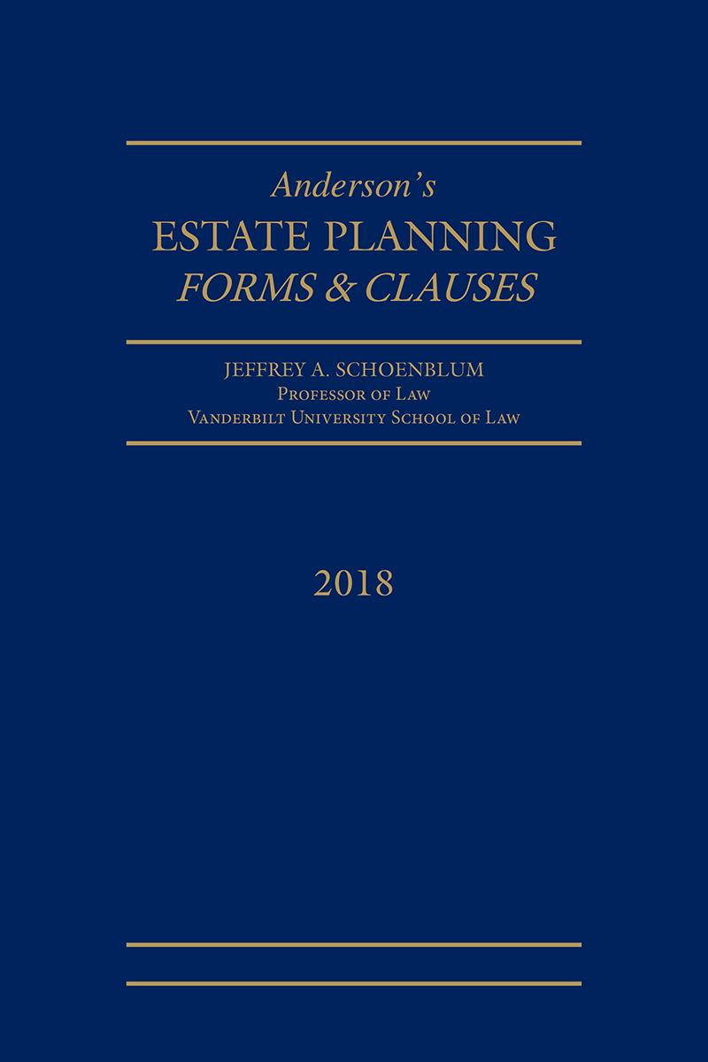 Estate Planning Forms and Clauses