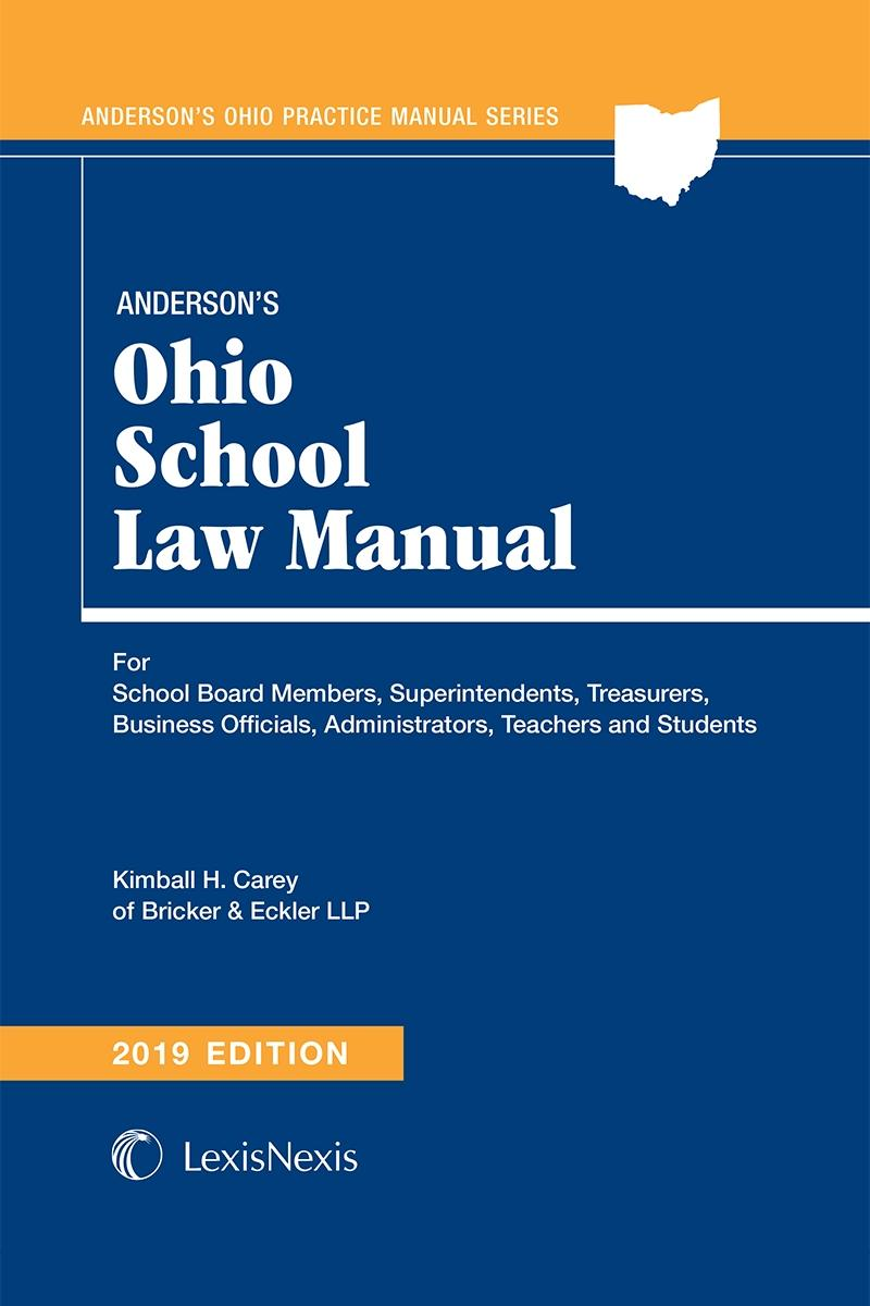 42e6ad0f Anderson's Ohio School Law Manual | LexisNexis Store