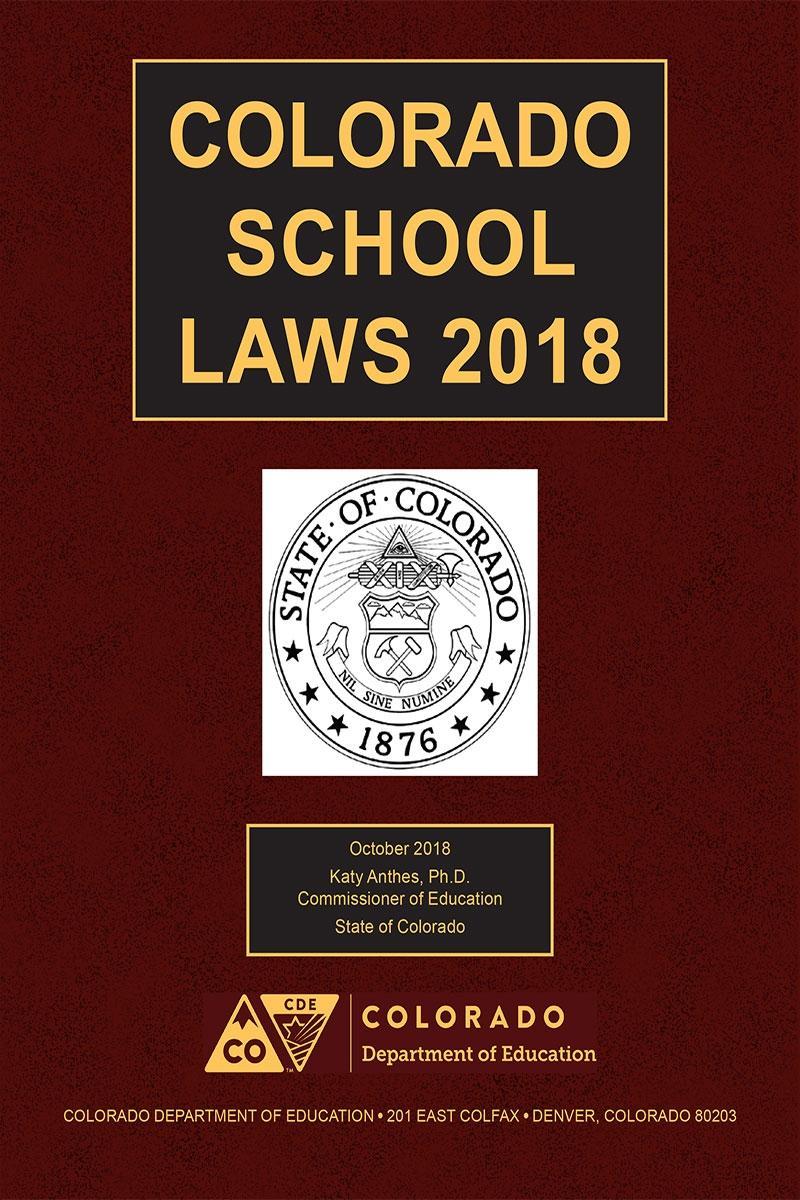Colorado School Laws Lexisnexis Store
