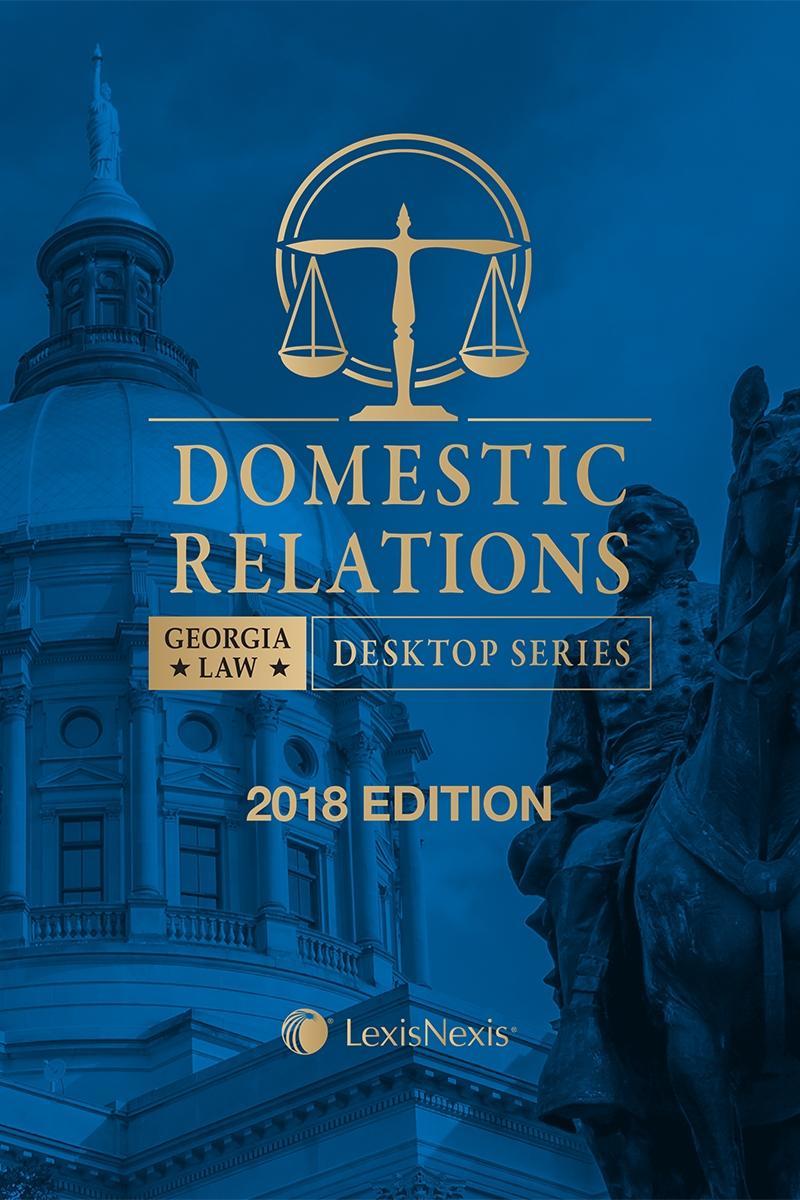 Georgia Domestic Relations Law | LexisNexis Store