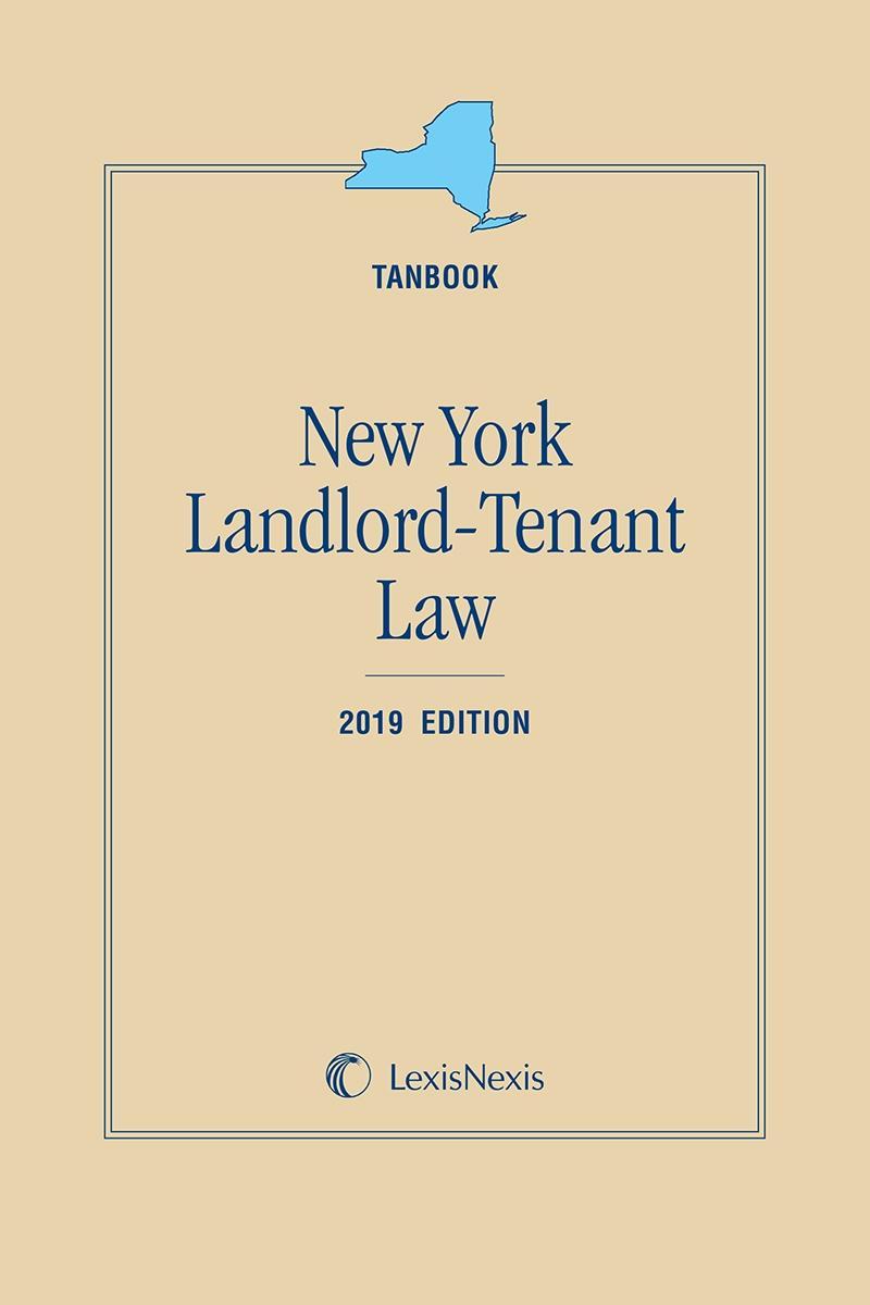New York Landlord-Tenant Law (Tanbook) | LexisNexis Store