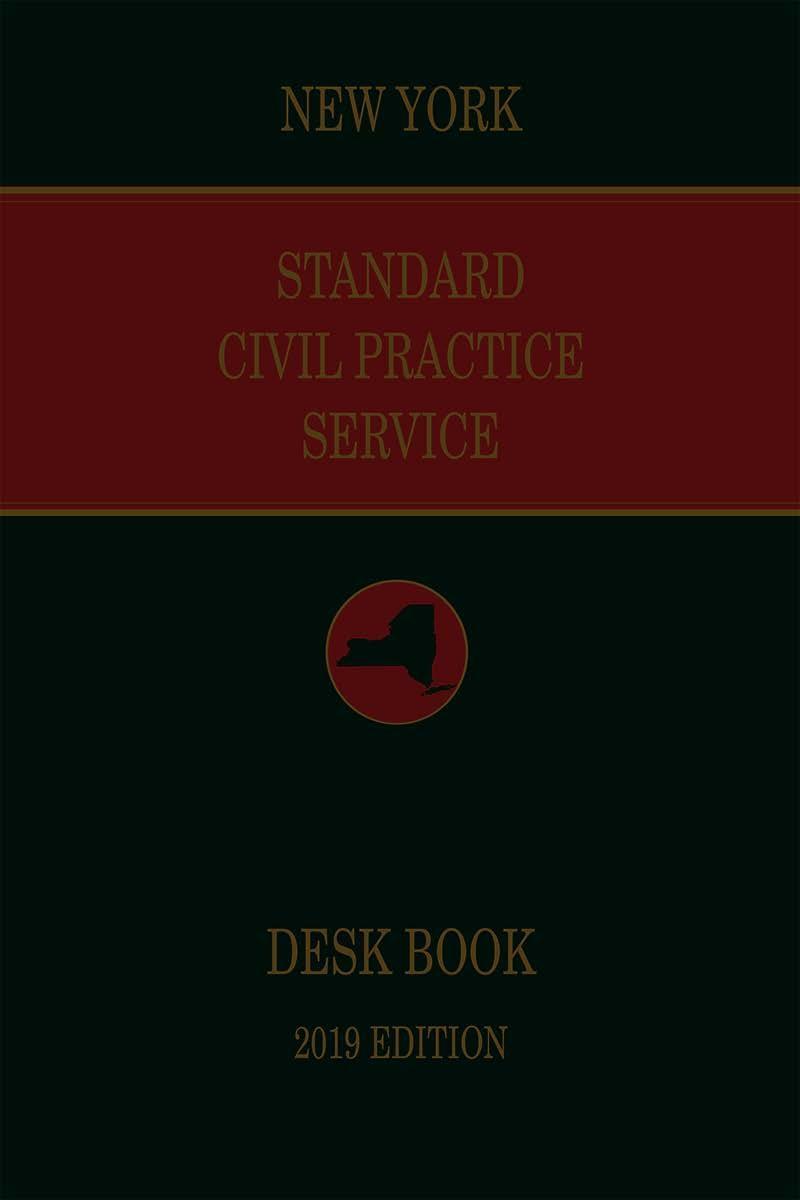 new york standard civil practice service deskbook