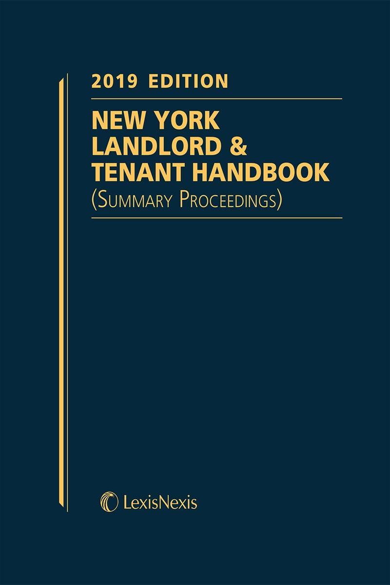 New York Landlord and Tenant Handbook (Summary Proceedings