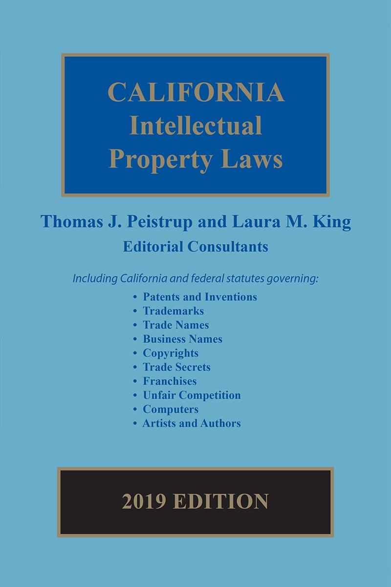 California Intellectual Property Laws Lexisnexis Store