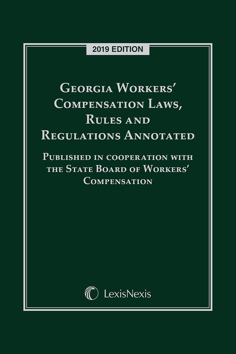 Georgia Workers Compensation Laws Rules And Regulations