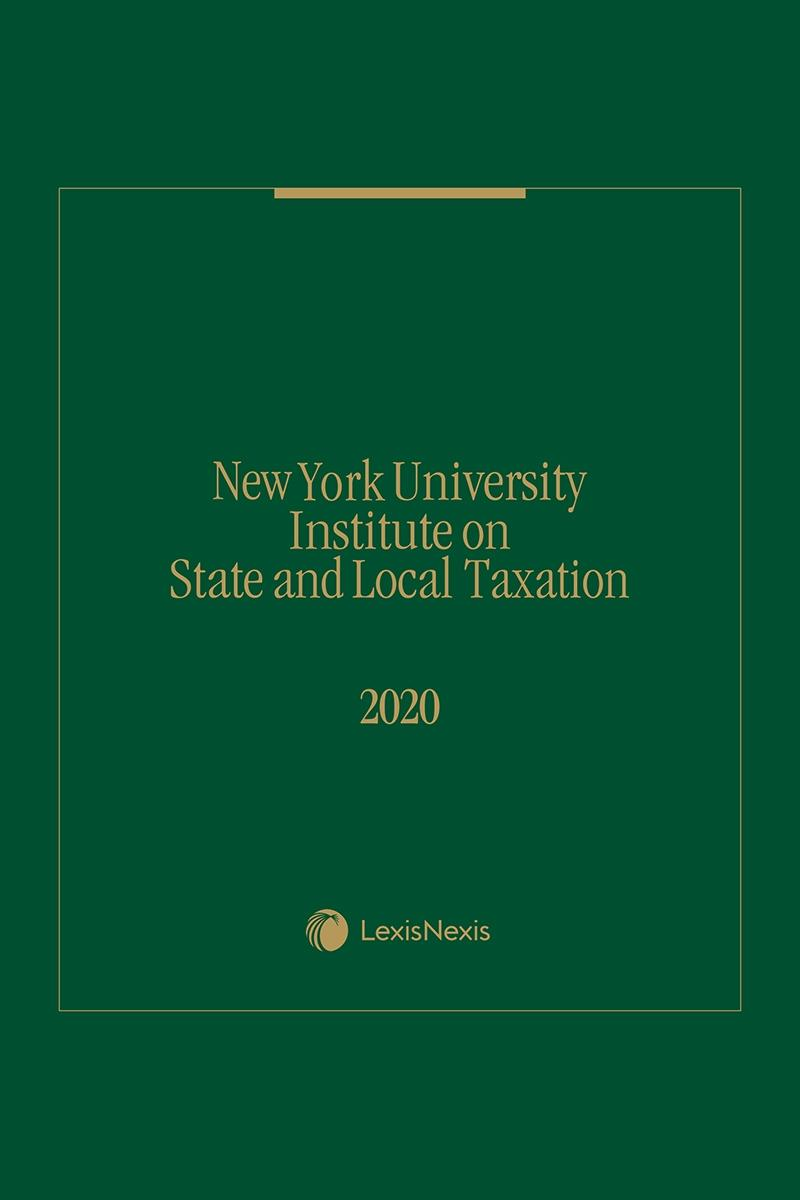 New York University on State and Local Taxation