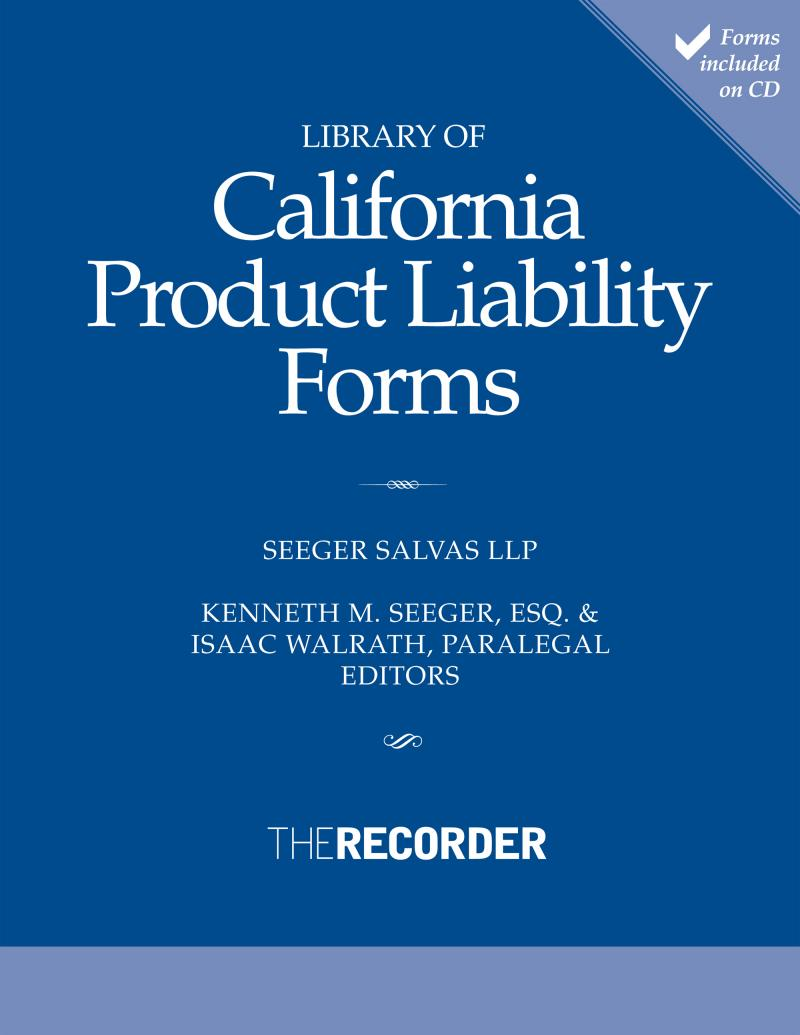 product liability Product liability jury award statistics in 2012 and 2013, 94,960 products liability cases were filed in us federal courts this equates to approximately one out of every six cases filed, and these statistics do not reflect the numerous actions filed in state courts.