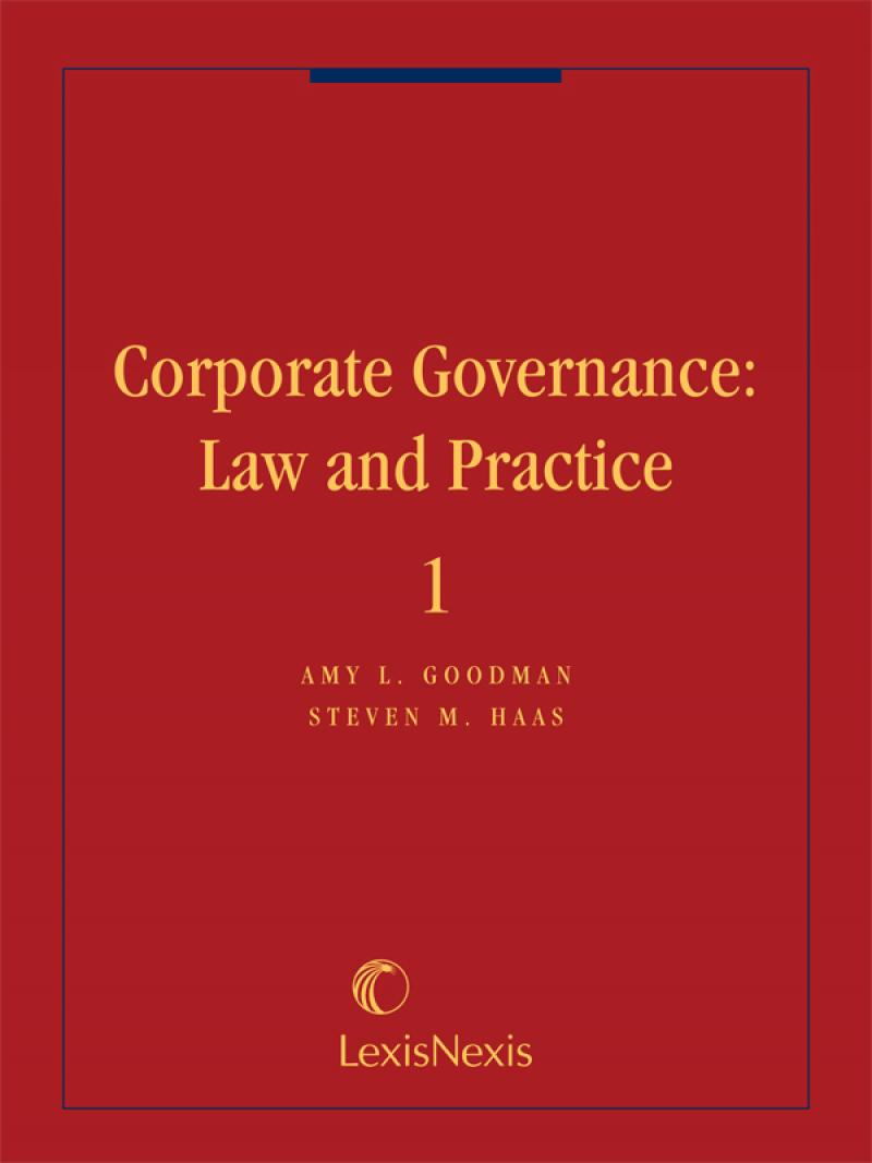 corporate law and governance