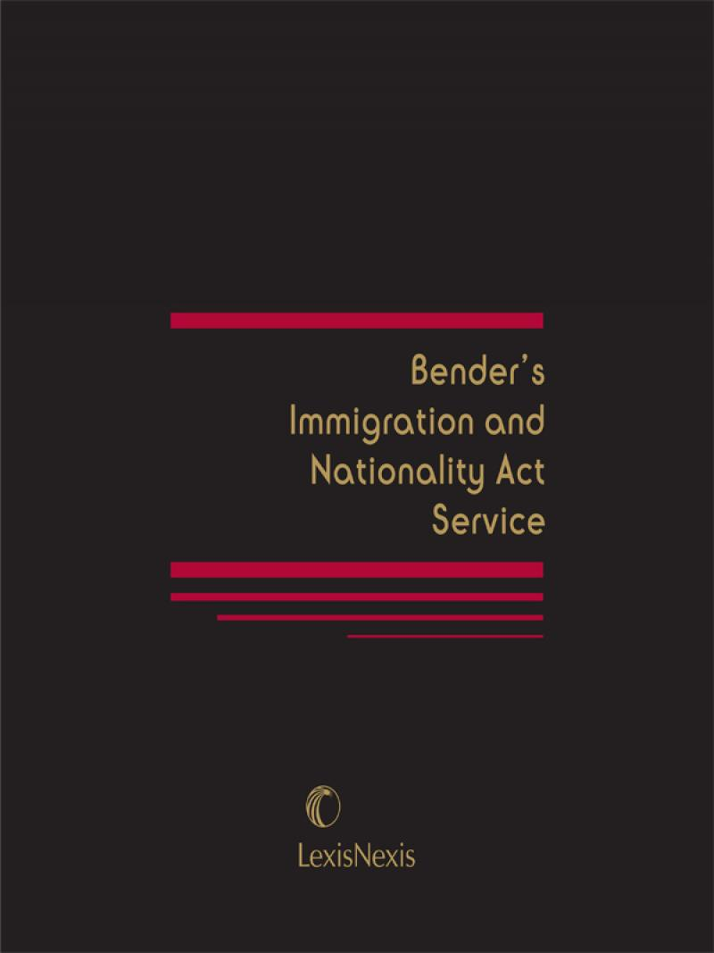 benders immigration and nationality act service