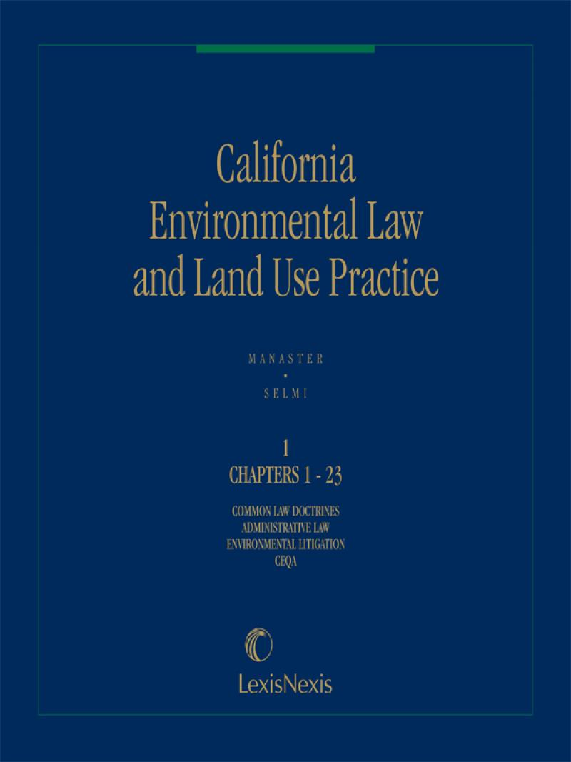 California Environmental Law & Land Use Practice