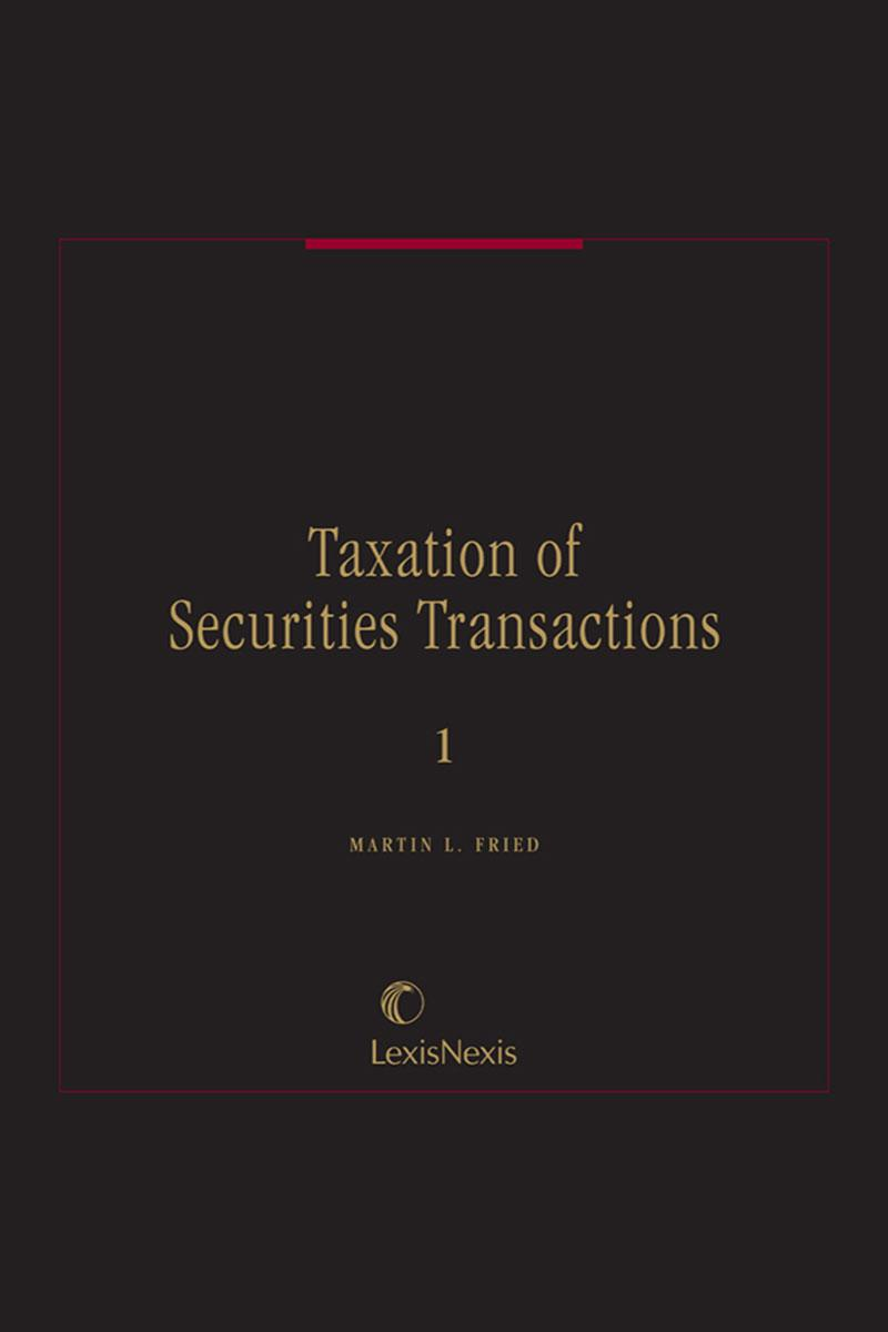 Taxation of Security Transactions