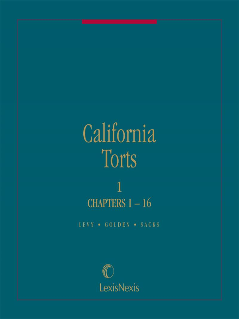 California Torts | LexisNexis Store