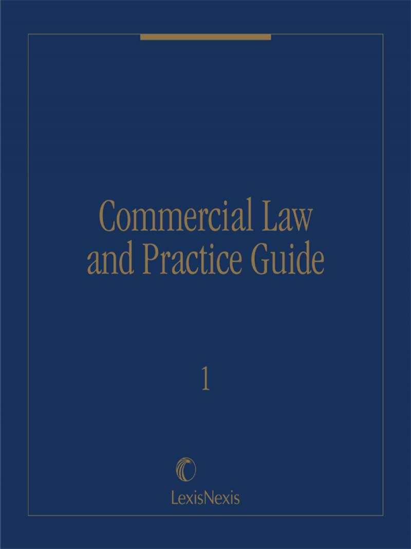 Commercial Law and Practice Guide