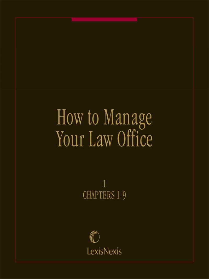How to Manage your Law Office